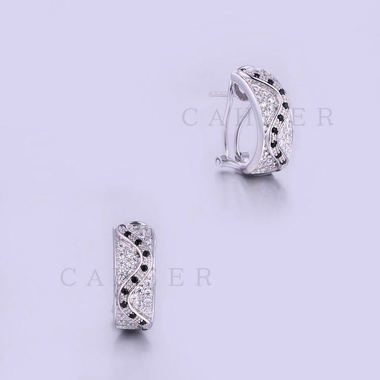 Hot Sale Earrings 925 Sterling Silver Earrings Jewellery K0011E