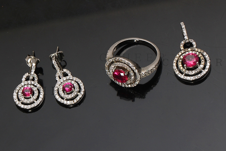 Ruby Jewellery Set K0008S