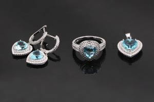 Heart of Ocean Jewelry Set K0003S