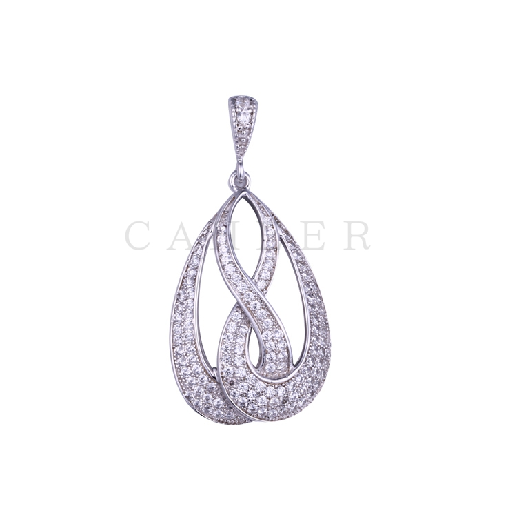 Simple Zircon Pendant K0022P