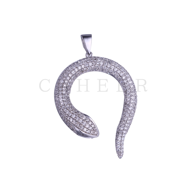 Simple Zircon Pendant K0025P