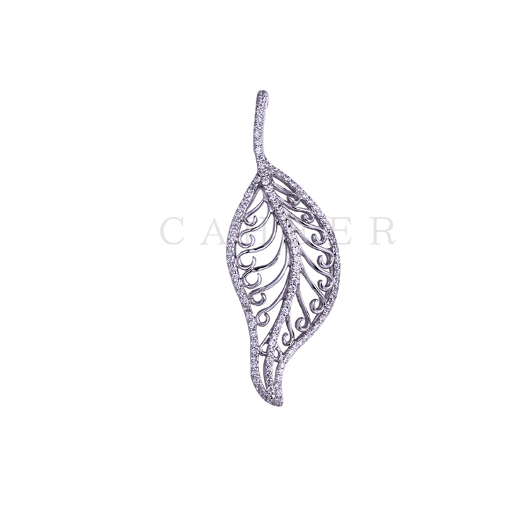 Simple Leaves Pendant K0026P