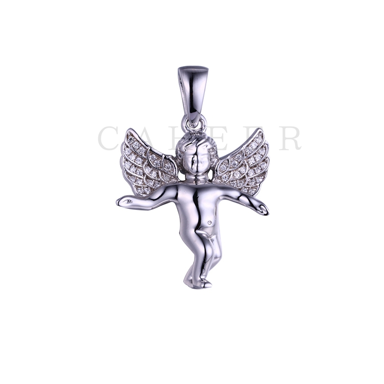 Simple Angel Boy Pendant K0027P