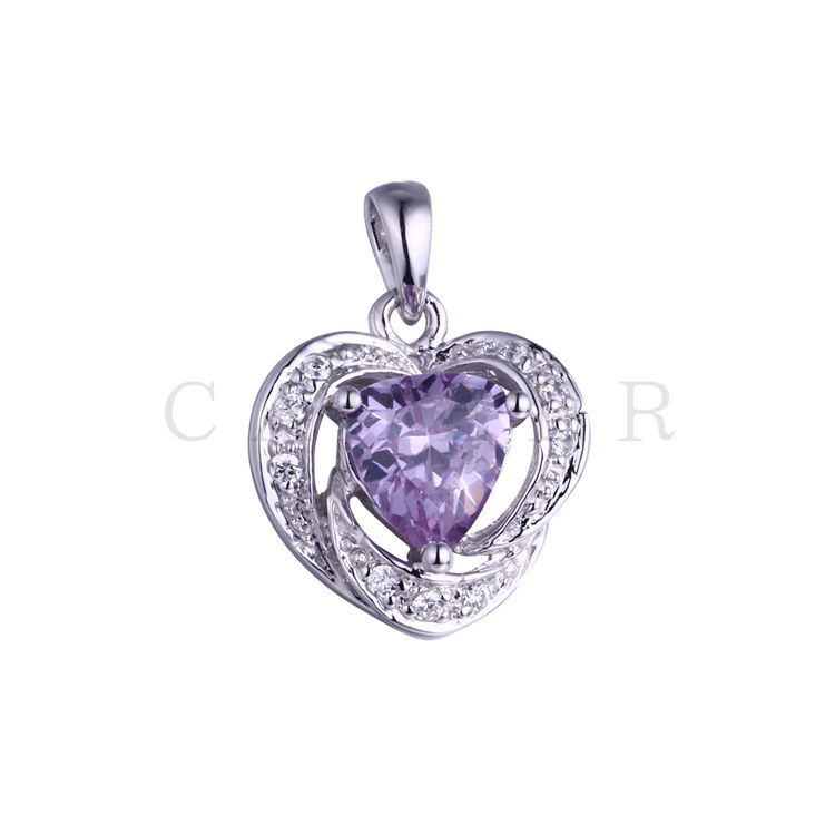 Luxurious Amethyst Pendant K0040P