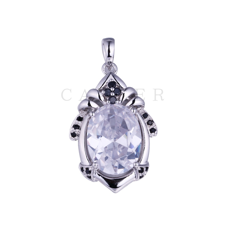 Luxurious Oval Pendant K0061P