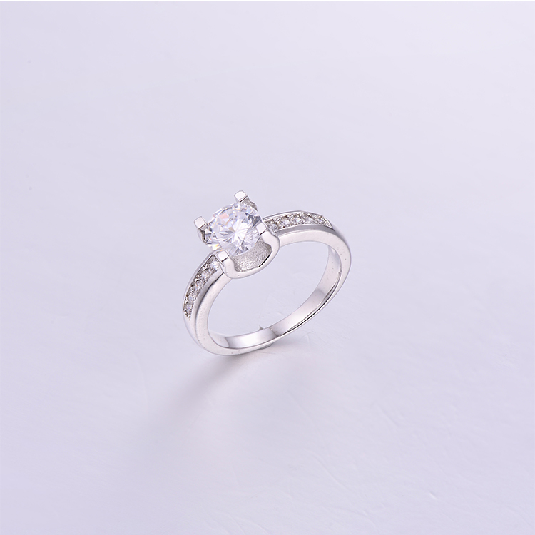 Engagement Silver Rings K0225R