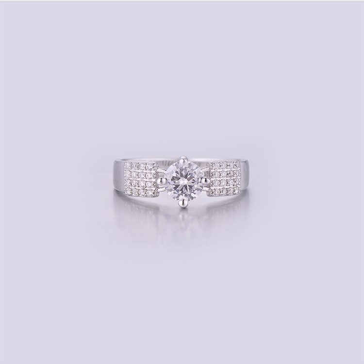 Micro Setting Lady Rings K0234R