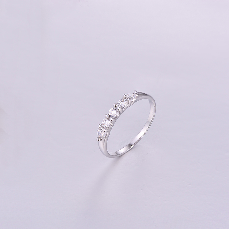 Five CZ Ring K0291R