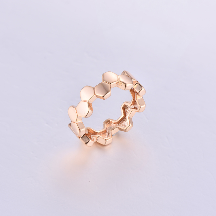 Simple Style No Stone Ring K0372R