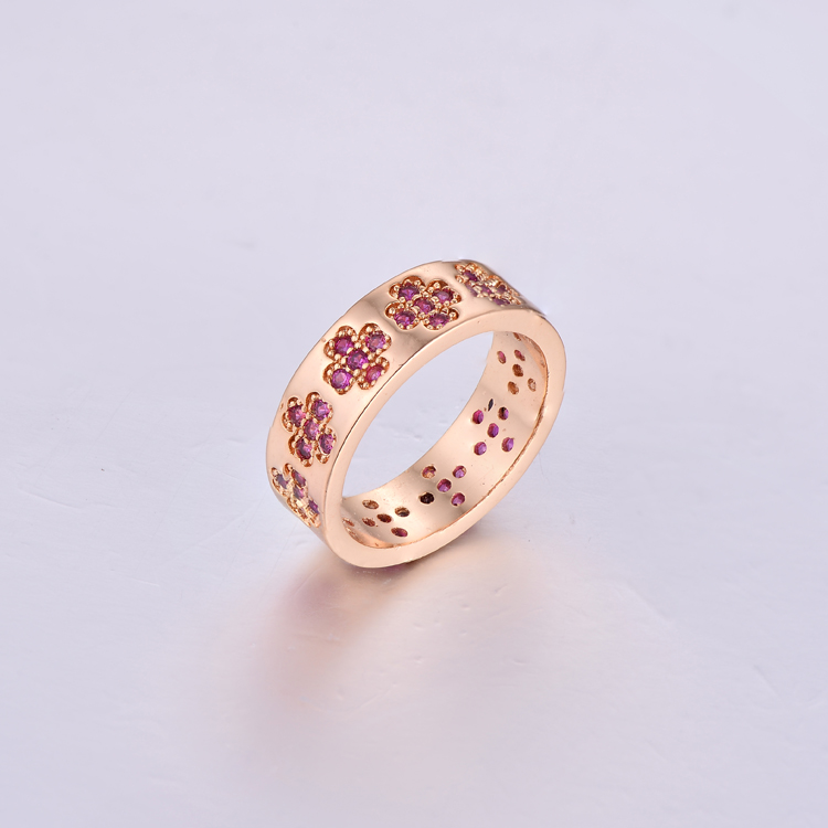 Plain Ruby Lady Rings K0373R