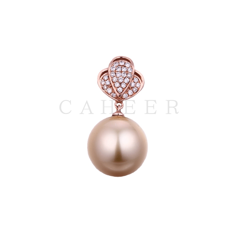 Simple Pearl Pendant CA0008P