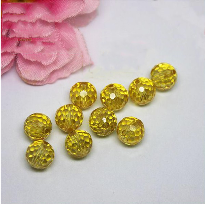 Cubic Zirconia Ball Beads Gemstone