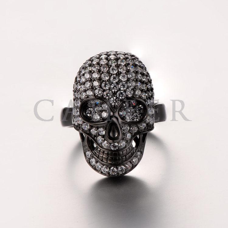 American Style Hip Hop Skull Rings for Men